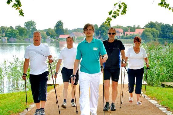 Nordic Walking am Haussee